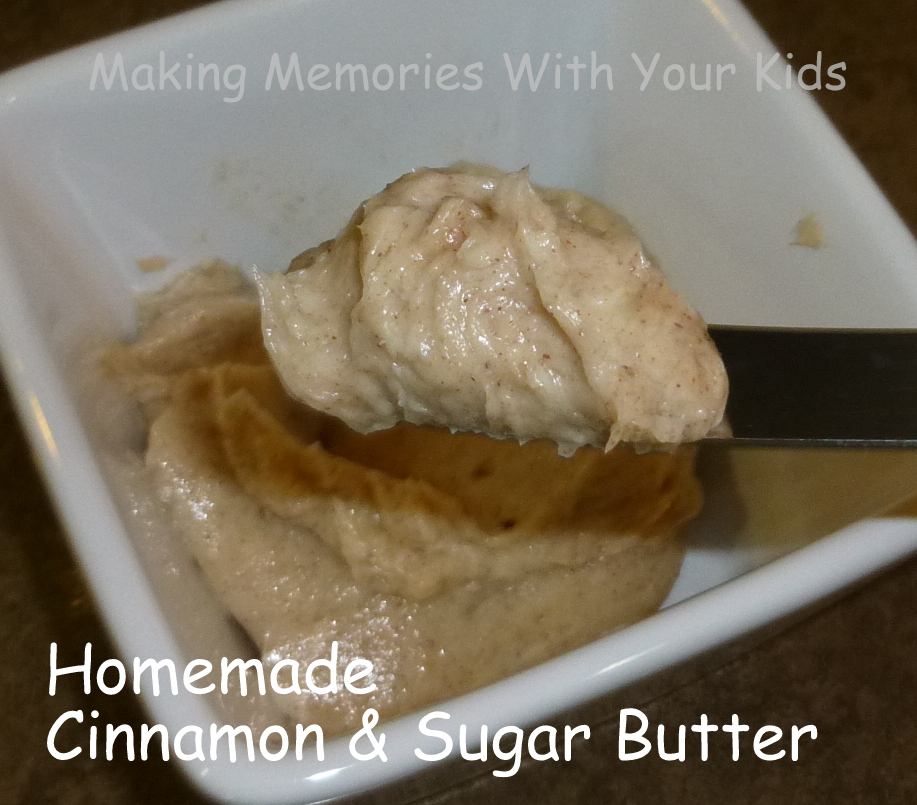 cinnamon and sugar butter