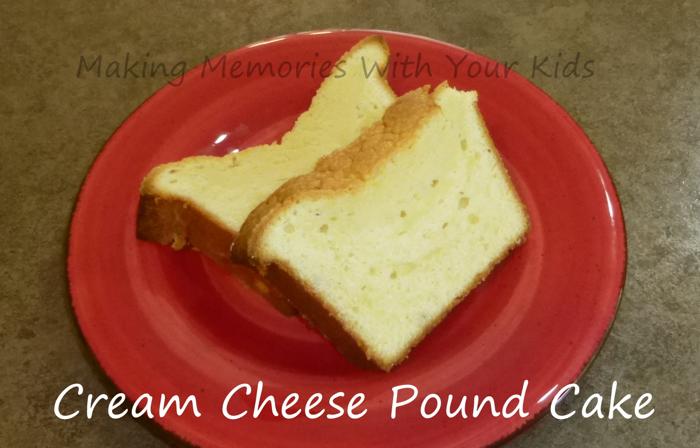 Philadelphia Cream Cheese Lemon Pound Cake Recipe