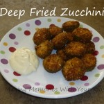 deep fried zucchini