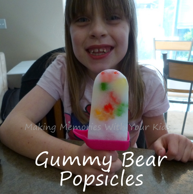 gummy bear popsicles