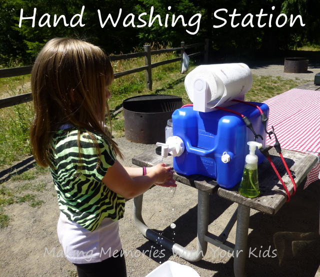 Hand Washing Station Easy Peasy