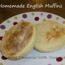 Homemade English Muffins (in a Bread Machine)