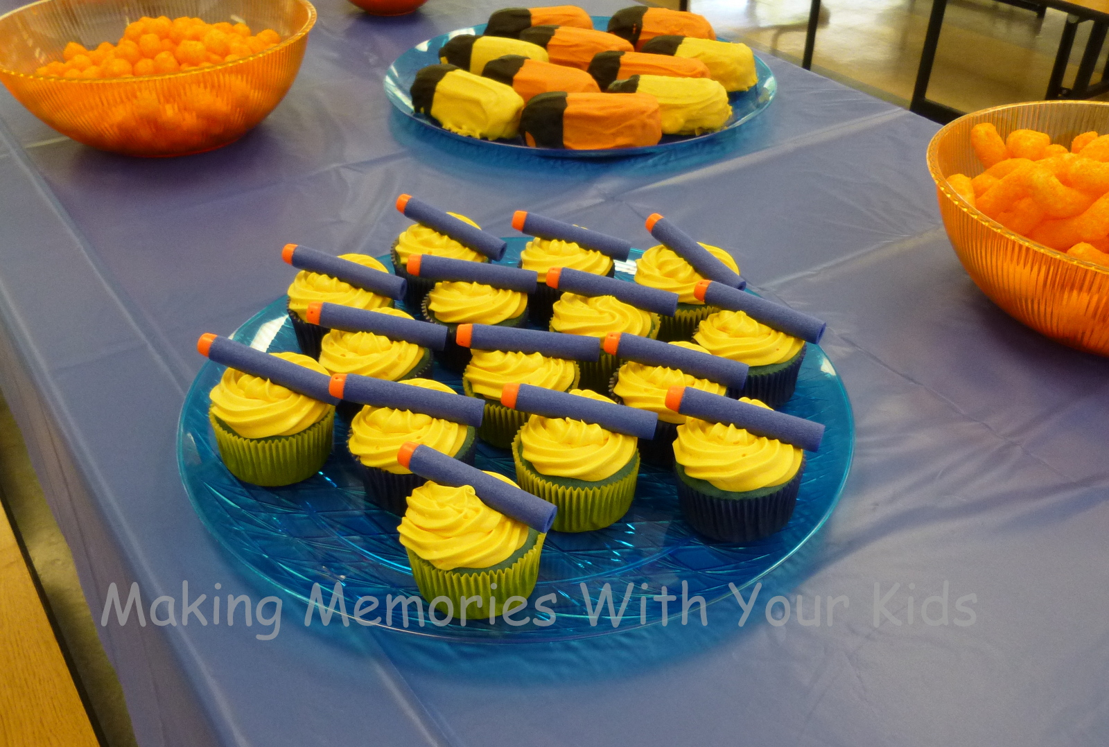 Nerf Birthday Party Cake Ideas And Designs