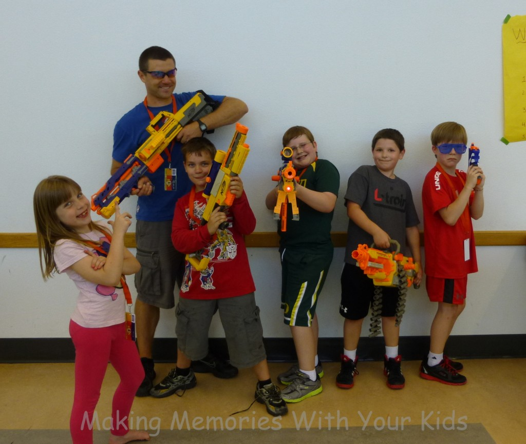 nerf birthday party