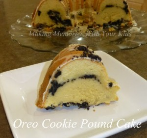 oreo cookie pound cake