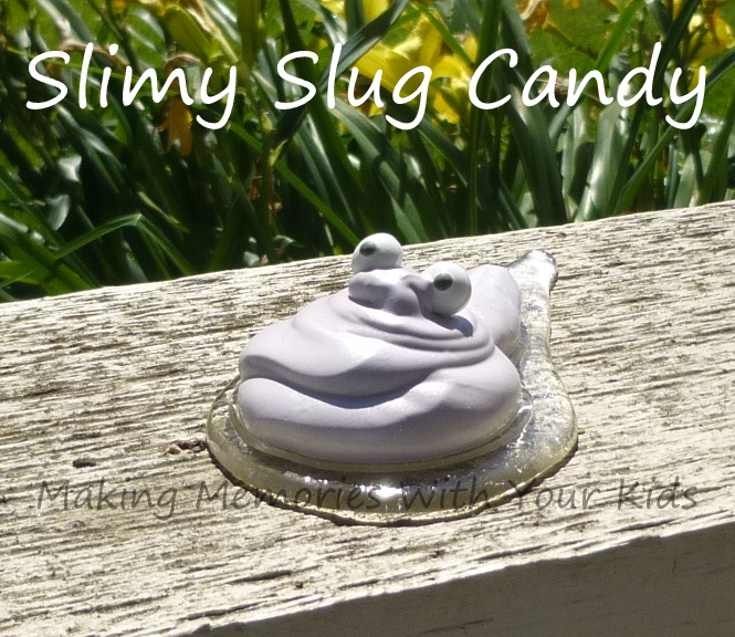 slimy slug candy
