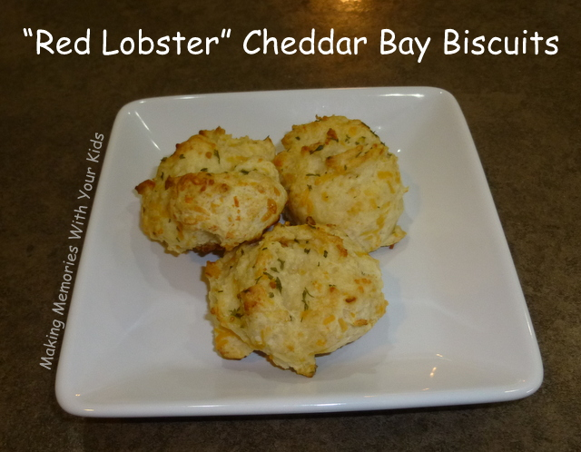 Knock Off Red Lobster Cheddar Bay Biscuit