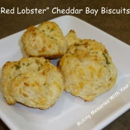 Knock Off Red Lobster Cheddar Bay Biscuits {Secret Recipe Club}