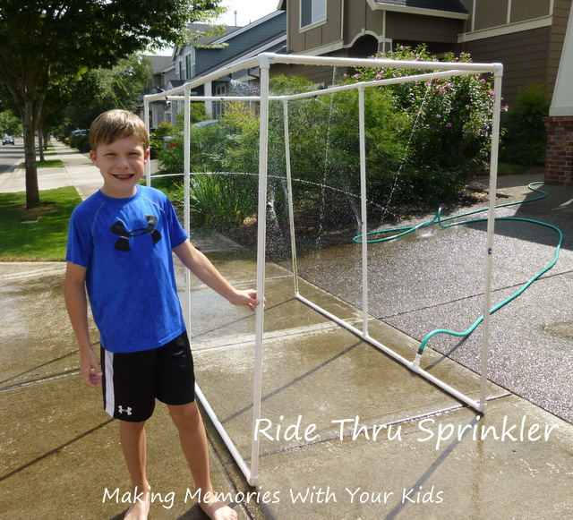 ride thru sprinkler