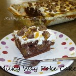 Milky Way Poke Cake