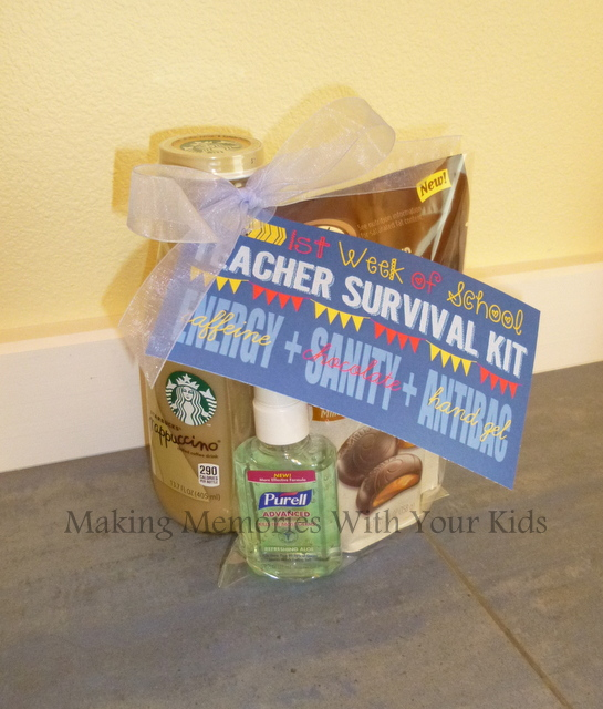 teacher appreciation gift back to school