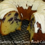 blueberry cream cheese bundt cake
