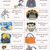 halloween jokes lunch box notes