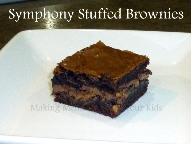 symphony stuffed brownies