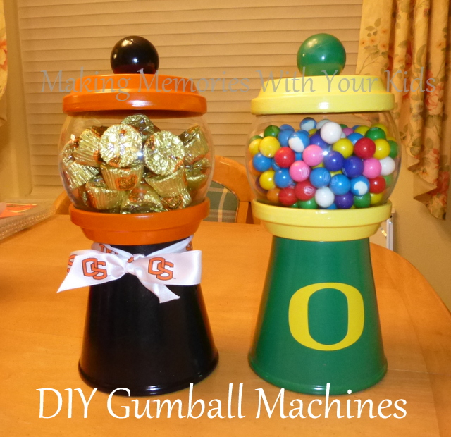 DIY Gumball Machine and Candy Dispenser
