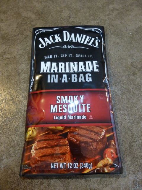 Jack Daniels Marinade in a bag