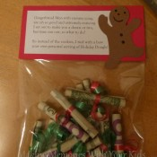Christmas Money Gift Idea Holiday Dough