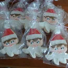 OMG, Elf on the Shelf Cookies