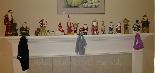 Elf on the SHelf Iea hanging underwear