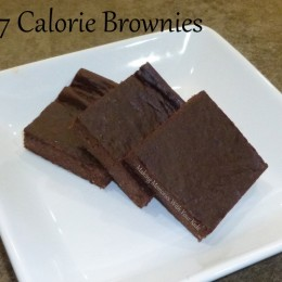 37 Calorie Brownies, No Thank You