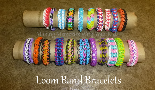 Rubber band bracelet instructions without loom