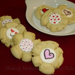 Valentine's Day Sugar Cookies {Secret Recipe Club}