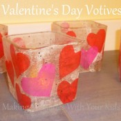 Valentine's Day Votive Craft