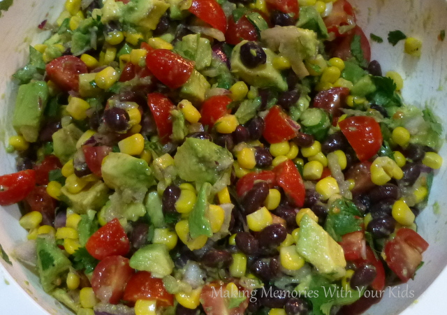 Black Bean & Avocado Salsa
