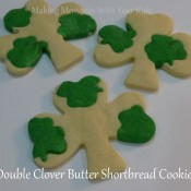 DOuble Clover Butter Shortbread Cookies