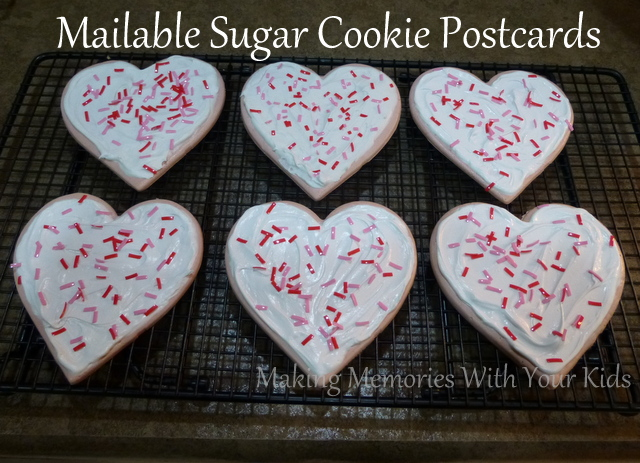 Mailable Sugar Cookie Postcards