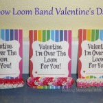 Rainbow Loom Band Valentine's Day Gift Idea
