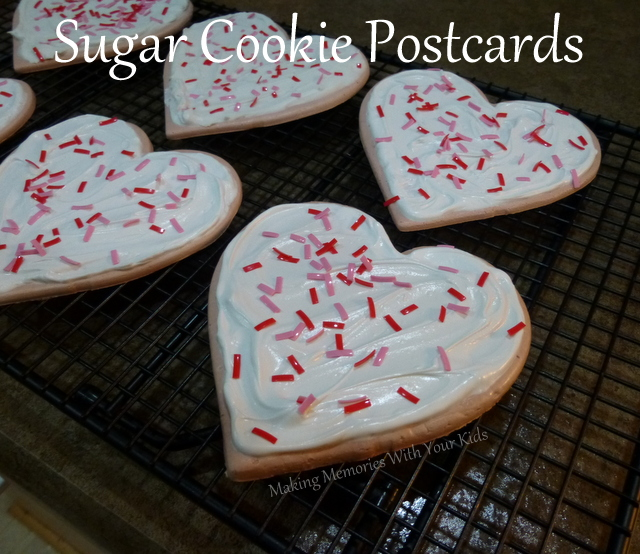 Sugar Cookie Postcards
