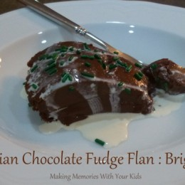 Brigadeirao: Brazilian Chocolate Fudge Flan {Secret Recipe Club}