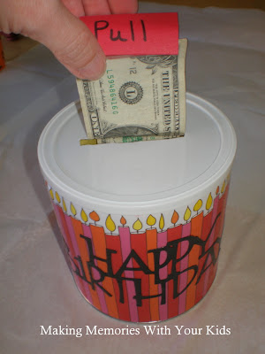 Money Roll GIft Idea