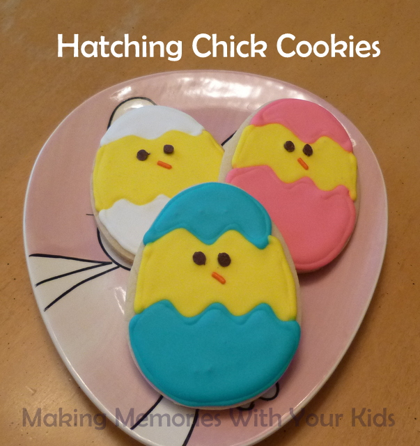 Hatching Chick Sugar Cookies