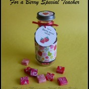 For a Berry Special Teacher Teacher Appreciation Gift Idea