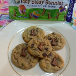 Iddy Biddy Bunnies Chocolate Chip Cookies