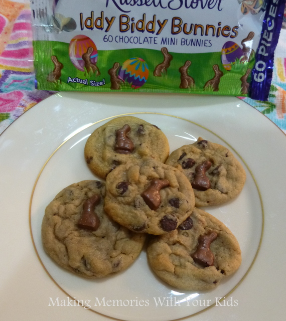 Iddy Biddy Bunnies Cookies for Easter