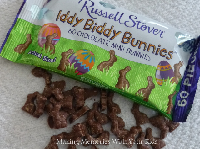 Russell Stover Iddy Biddy Chocolate Bunnies