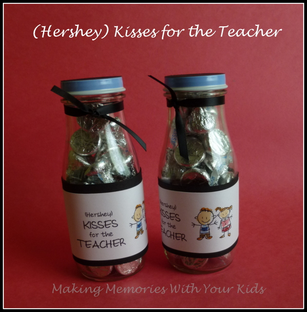 Teacher Appreciation Gift Idea with free printable