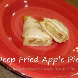 Fried Apple Mini Pies