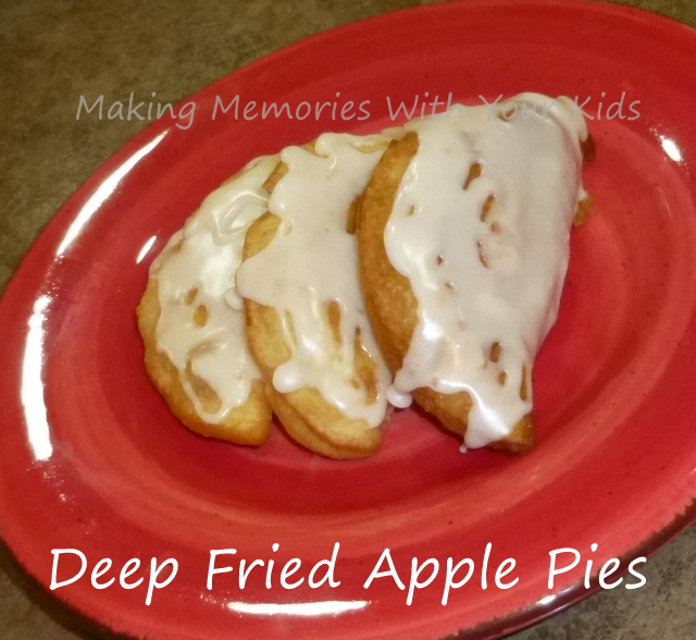 Deep Fried Apple Mini Pies