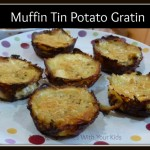 Muffin Tin Potato Gratin