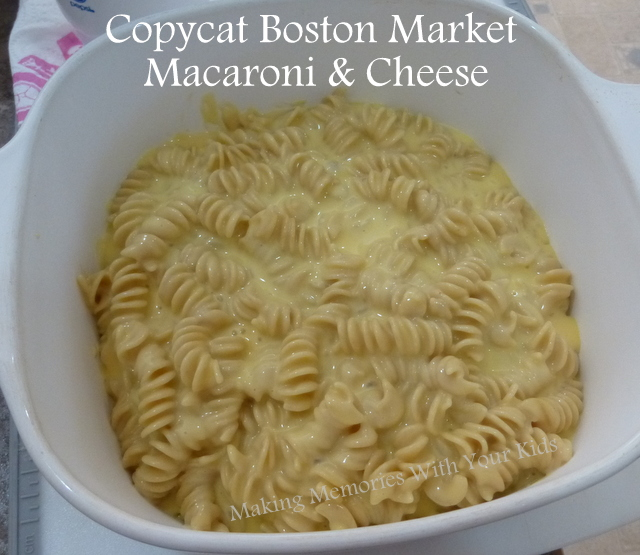Copycat Boston Market Macaroni and Cheese