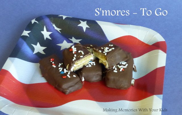 no mess s'mores on the go