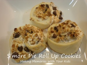 S'mores Roll Up Cookies