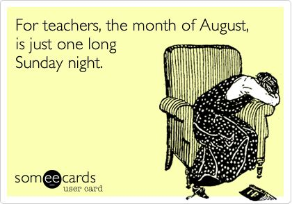 Back to School teacher Humor