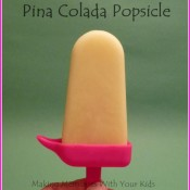 Pina Colada Popsicles with Homemade Coconut Milk