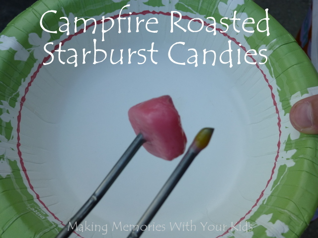 Campfire Roasted Starburst Candy