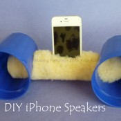 DIY iPhone and iPod Speakers